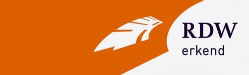 RDW erkend logo