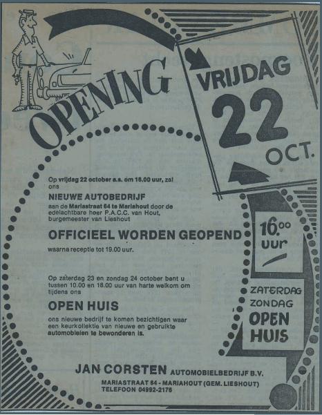 Officiële opening showroom