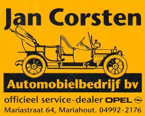 Auto Corsten sticker 