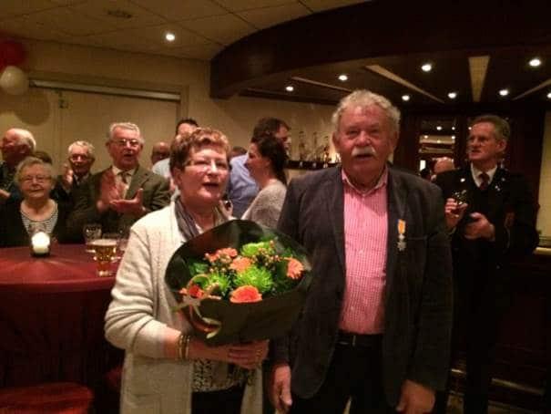 Jan Corsten geridderd tot lid van Oranje Nassau