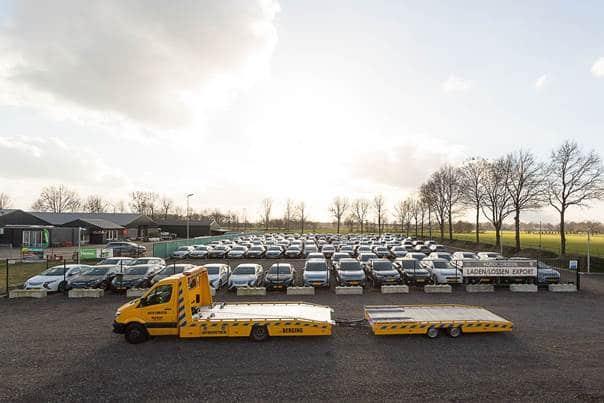Opslagplaats aanbod van hybride voertuigen